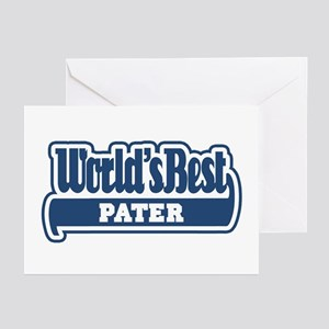 Worlds best dad greeting cards cafepress wb dad latin greeting cards pk of 10 m4hsunfo